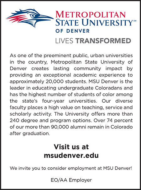 CR page 1 Metropolitain State UC Denver College