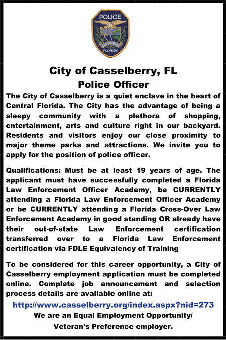 CasselberryPolice