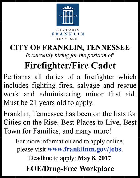 CityofFranklinFirefighter