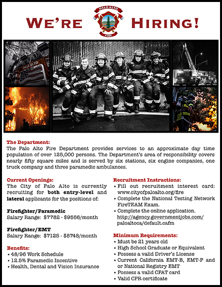 PAFD Recruitment Brochure