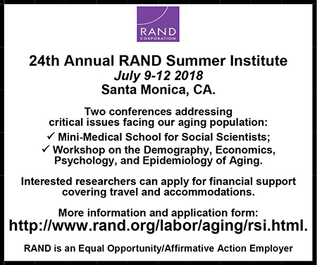 Rand Corporation Summer Institute Template
