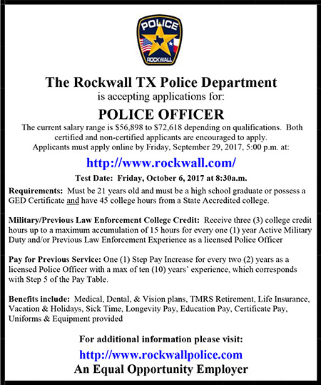 Rockwall Police Department