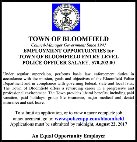 Town of Bloomfield Police