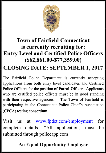 Town of Fairfield CT Police